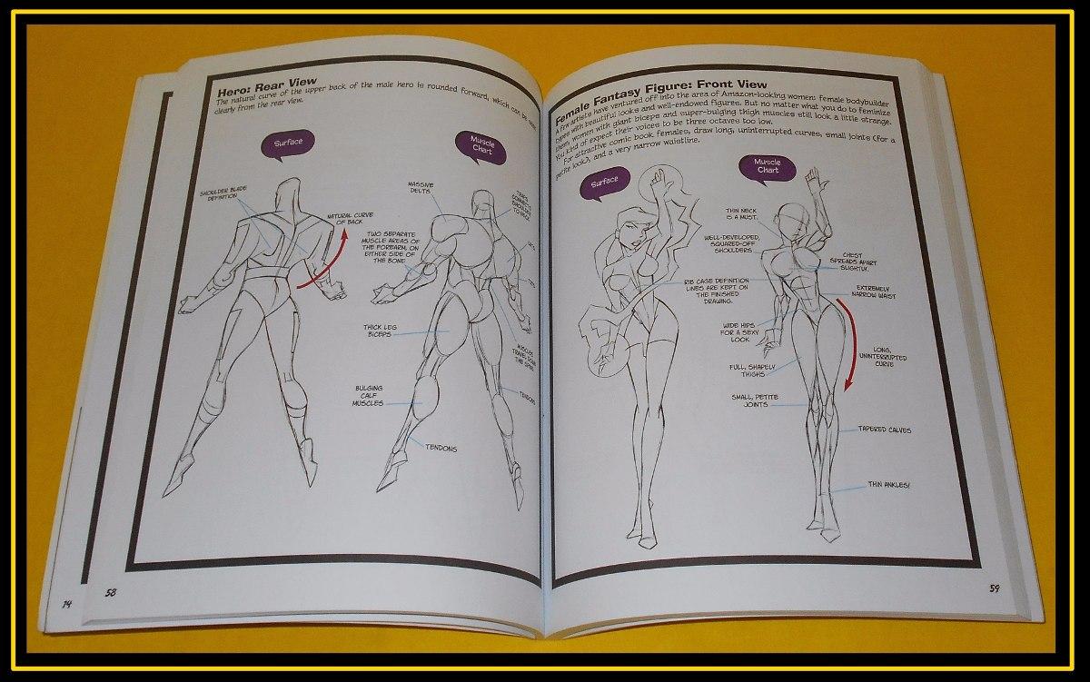 Aprende A Dibujar Anatomía Para Comics - $ 550.00 en Mercado Libre
