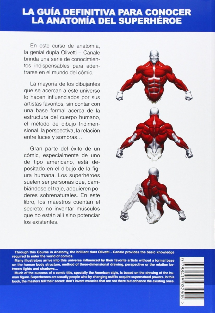 Aprende A Dibujar Comic: Anatomia De Superherores Ariel Oliv ...