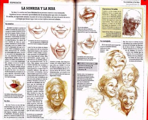 aprende a dibujar retratos rostros y expresiones - parramon