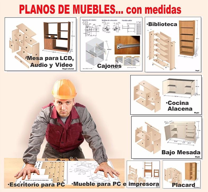 Aprende A Fabricar Muebles De Melamina Planos Manuales