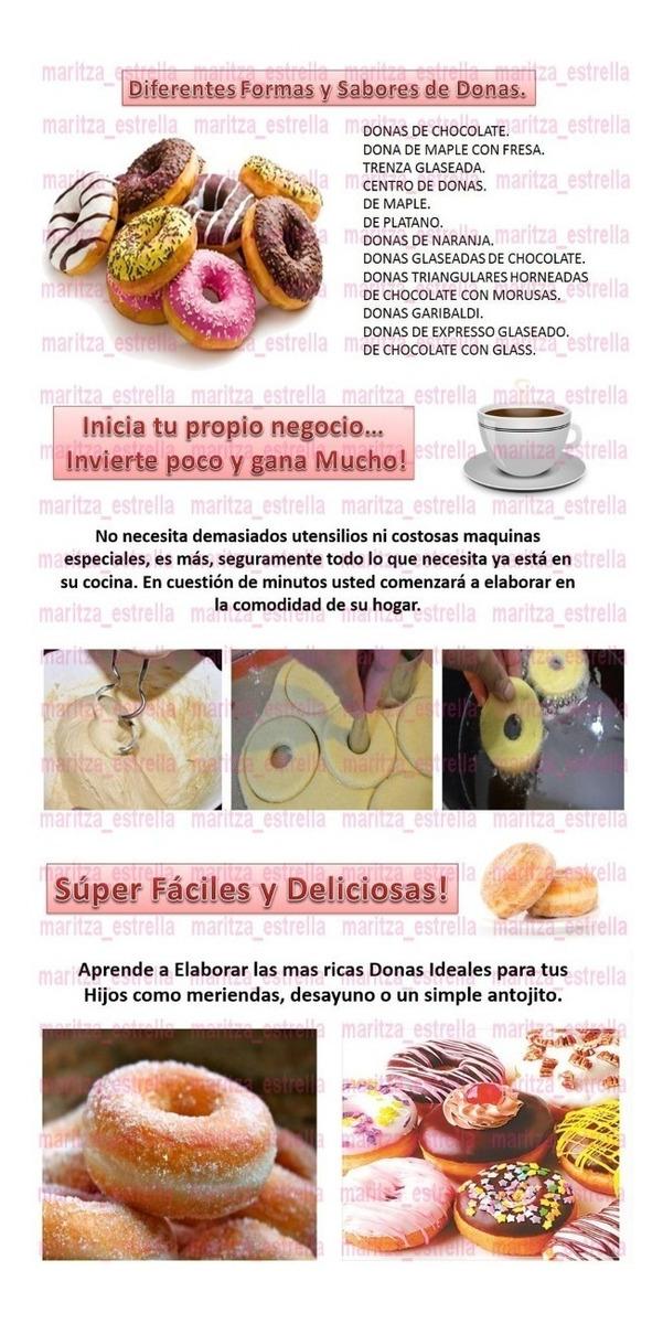 Aprende A Hacer Donas Maxidonas Churros Recetas Profesional