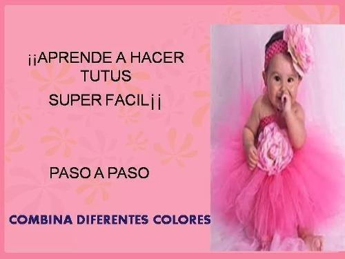 Aprende A Hacer Faldas Tutu Para Niñas Y Bebes Patrones 5000 En