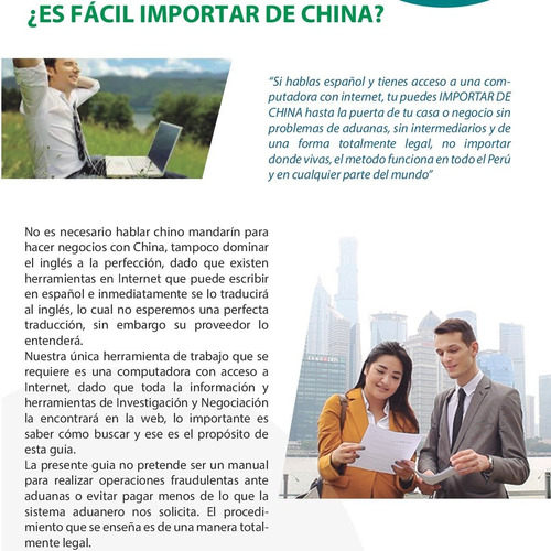 aprende a importar de china directo del fabricante seminario
