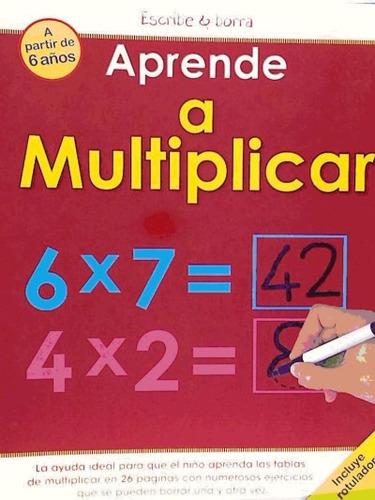 aprende a multiplicar(libro infantil)