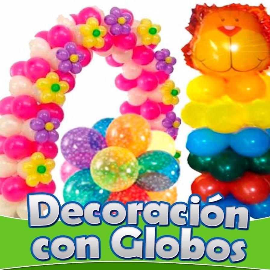 Aprende decoracion con globos hacer arreglos y globoflexia for Decoracion para pared con globos