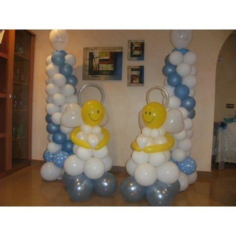 Aprende el arte de hacer arreglos y decoraciones con - Hacer decoraciones con globos ...