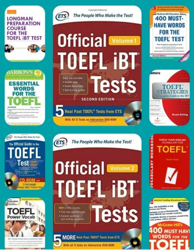 aprende ingles desde cero con  toelf tests - 10 pack