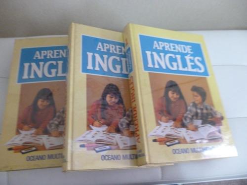 aprende ingles en 3 tomos- oceano multimedia-
