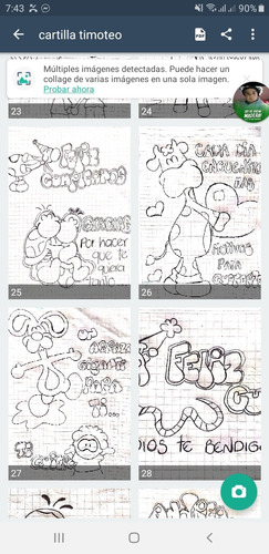 aprende letra y dibujo timoteo