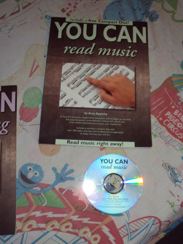 aprende musica -you can read music- c/cd ingles-amyappleby
