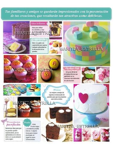 aprende secretos cupcakes preparación decoración ponquesitos