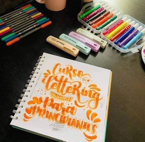 aprende timoteo y lettering