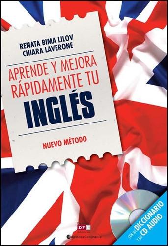 aprende y mejora rapidamente tu ingles - libro + cd