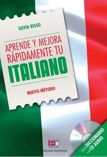 aprende y mejora tu italiano (con cd), risso, vecchi