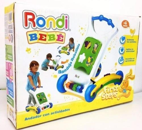 aprender a caminar rondi 3031 con juegos