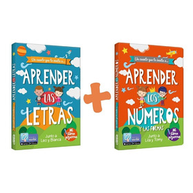 Aprender A Escribir ( 2 Libros Pizarra ) Letras + Números