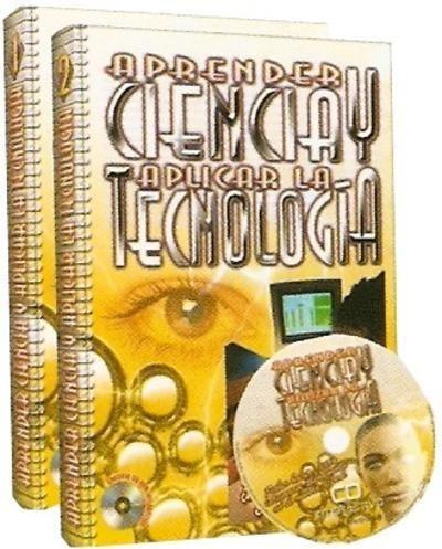 aprender ciencia y aplicar la tecnologia 2 volumenes + cd