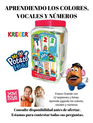 aprendiendo números, vocales y colores sr. papa - vavi toys