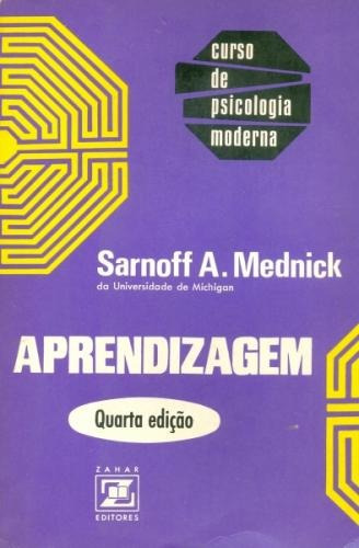aprendizagem - sarnoff a mednick