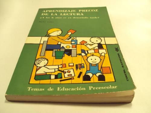 aprendizaje precoz de la lectura, rachel cohen