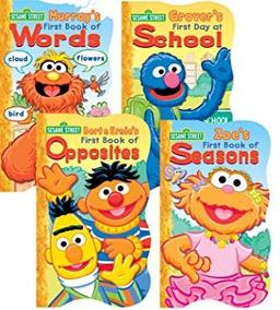 Aprendizaje Y Educación,juguete Sesame Street Mesa Libro