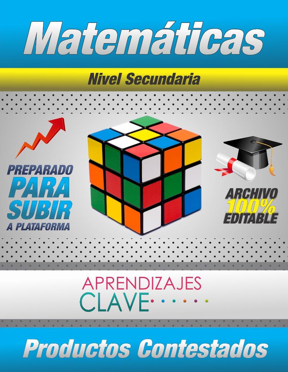 Aprendizajes Clave (matemáticas) - !secundaria! - $ 199.00 en ...