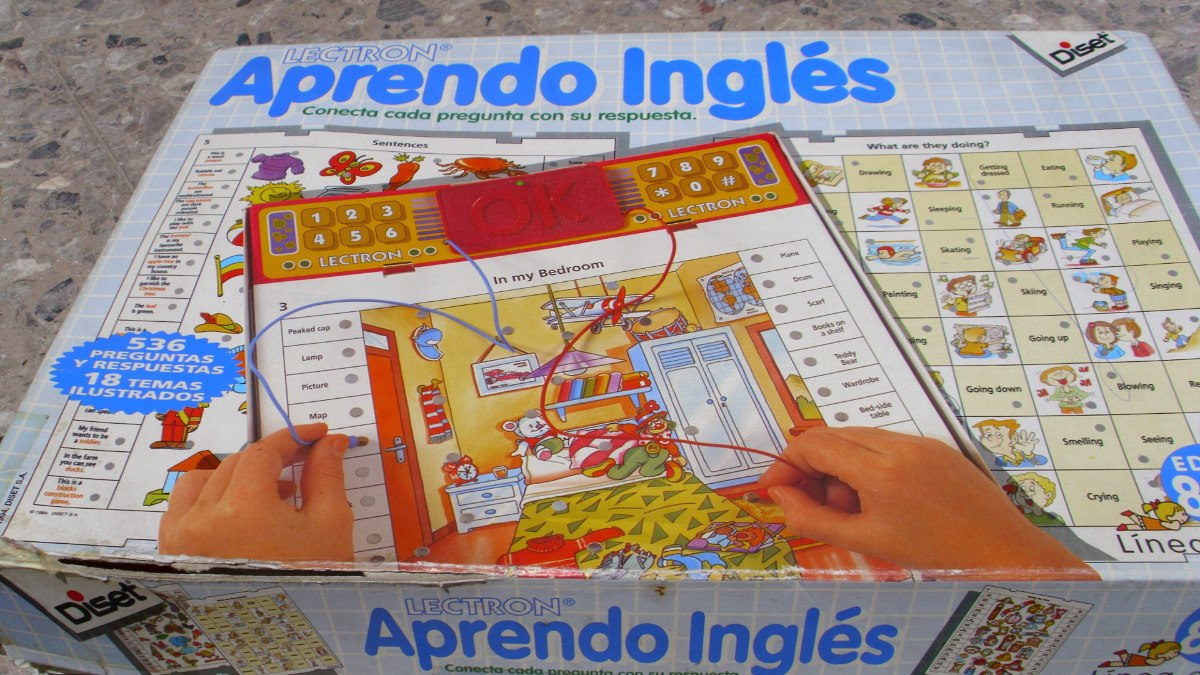 Aprendo Ingles Lectron Espana Juego De Mesa Educativo 1 000 00
