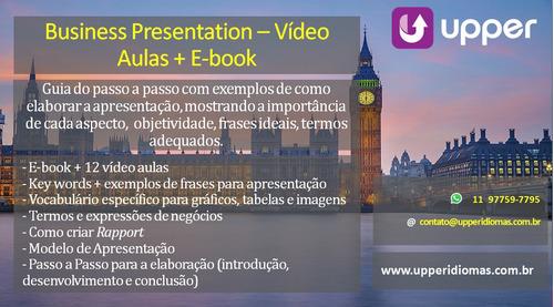apresentação de negócios - business presentation
