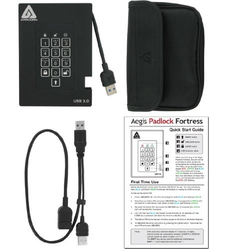 apricorn aegis padlock fortress fips 140-2 level 2 validated