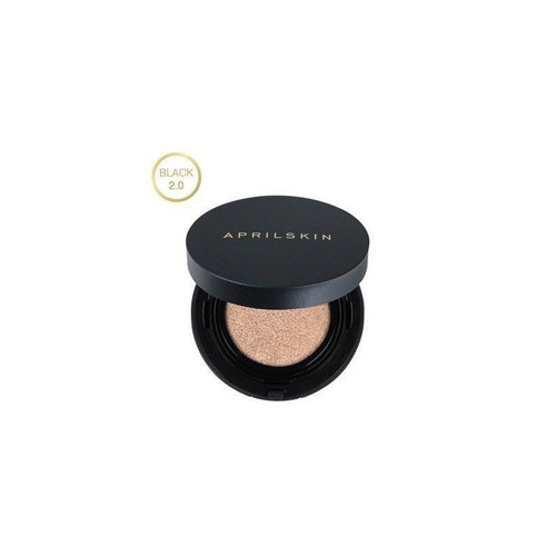 [april skin] magic snow cushion black 2.0 15g (22 pink beige