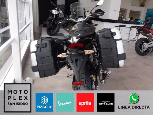 aprilia caponord 1200i rally abs 2017 0 km motoplex