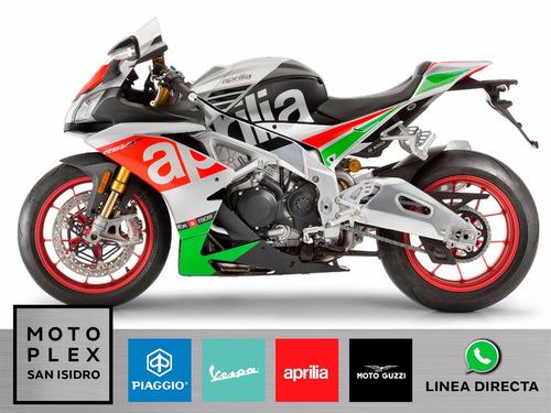 aprilia rsv4 rf abs 0 km 2017 motoplex san isidro.