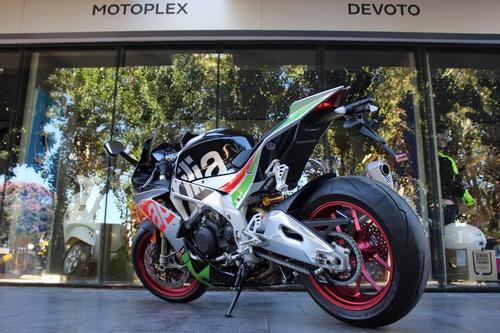 aprilia rsv4 rf último modelo  - motoplex devoto