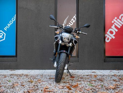 aprilia shiver 900 gris naked - motoplex san isidro