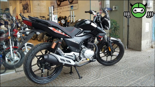 aprilia stx 150 0km 2016 moto de calle italiana megamoto