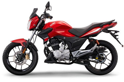 aprilia stx 150 - mac moto - naked
