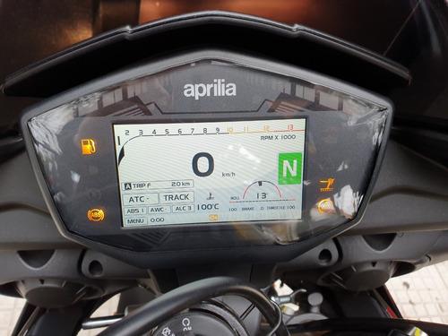 aprilia tuono 1100cc rr tft - motoplex san isidro
