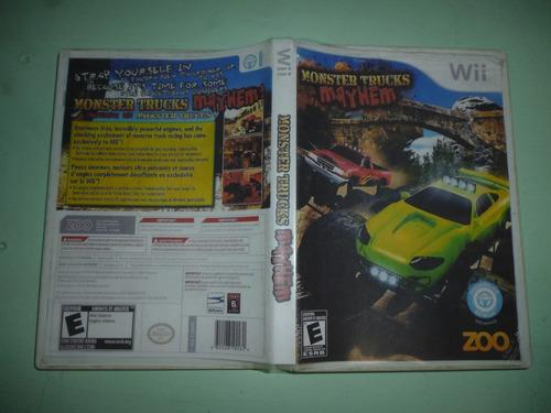 aprobecha esta gran oferta videojuego monster trucks mayhem