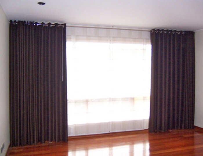 Aprovecha barra de acero para cortinas departamento casa for Cortinas para departamento