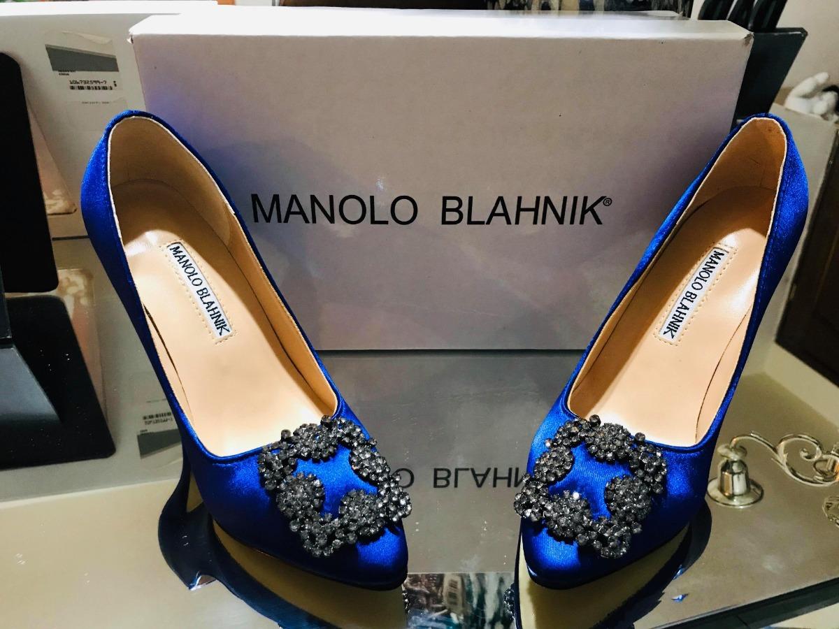 ab4a2cdc Aprovecha Gran Oportunidad Zapatillas Manolo Blahnik - $ 2,700.00 en ...