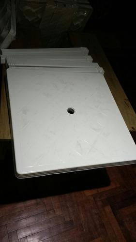 aprovecha mesa cuadrada plastica con patas desarmables