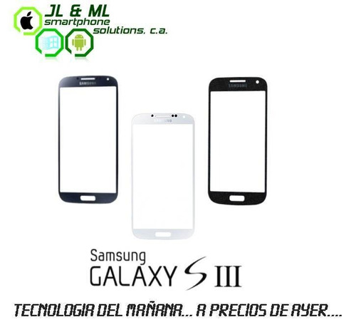 aprovecha.. mica de pantalla samsung galaxy s3 (blanca)