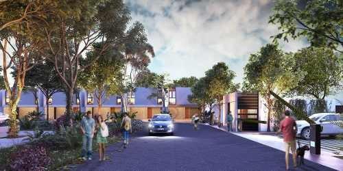 aproveche precio de promoción 7 unicas casas privada kanahil en col. chuburna.