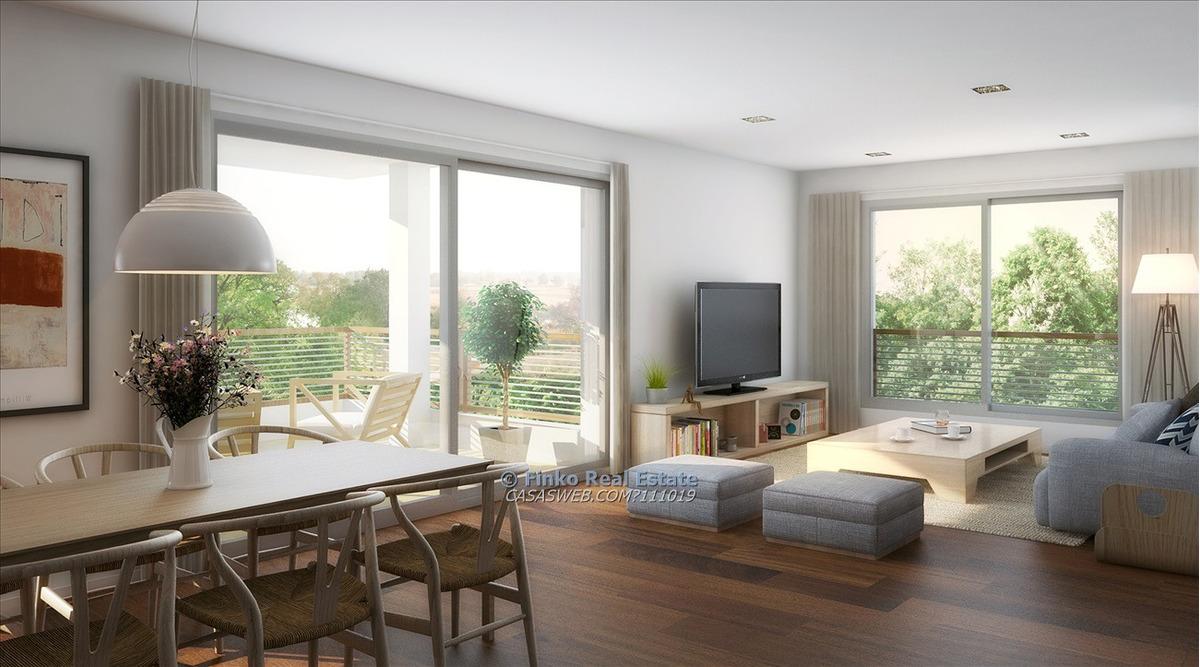 aprtamento de 2 dormitorios en carrasco con jardín