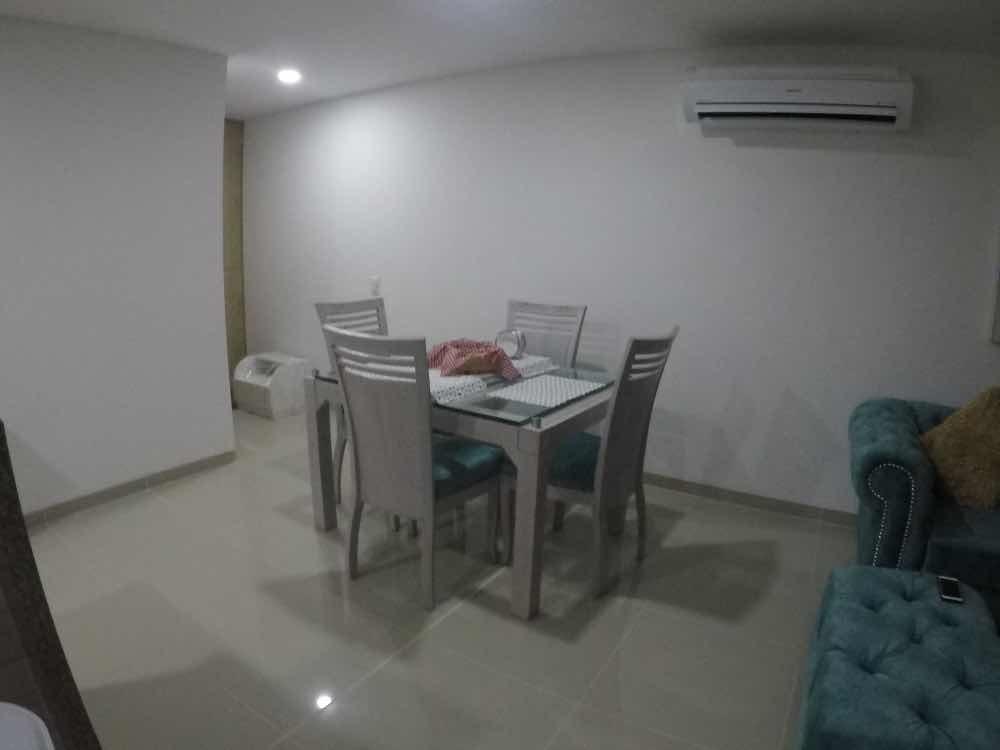 apt 3 habitaciones con baño privado  ciudad de santa marta
