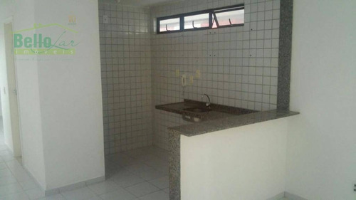 aptº  tipo flat 1 dormitório para alugar, 39 m² por r$ 950 + taxas/mês- graças - recife/pe - ap0651