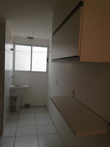 apto 02 dormitórios garagem coberta  varanda ville (ap0006)