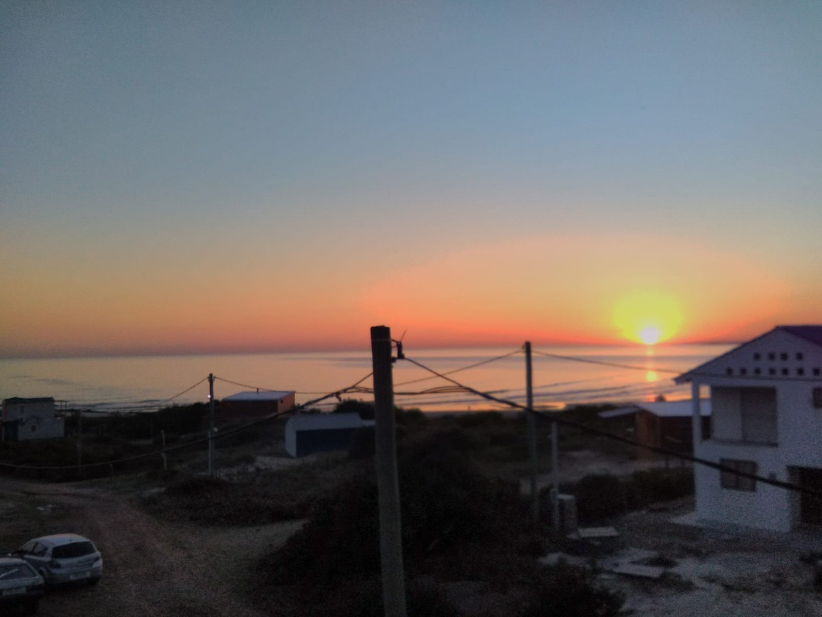 apto 1 de la playa, con vista al mar, caribe oriental km 64