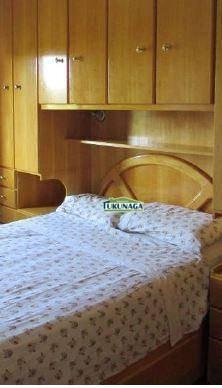 apto 100% mobiliado - 2 dormt - vl galvão - ap1419