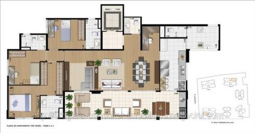 apto 134m² c/ 03 dorms (sendo 03 suites). cond. parque clube
